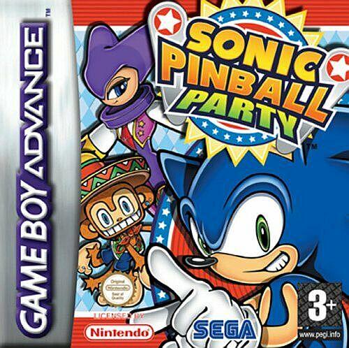 Sonic Pinball Party (E)(Endless Piracy) gba Game