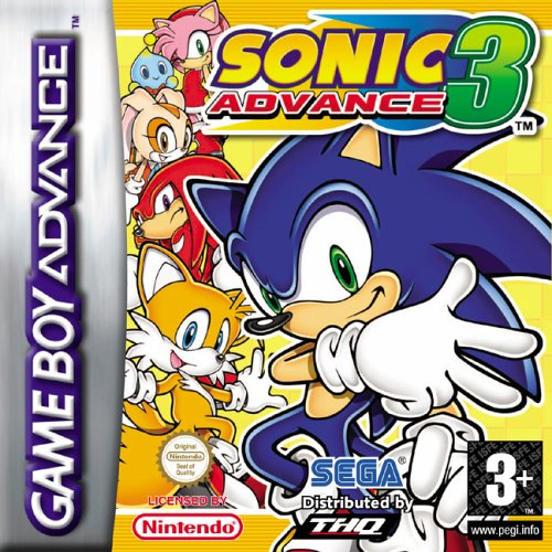 Sonic Advance 3 (E)(TrashMan) gba Game