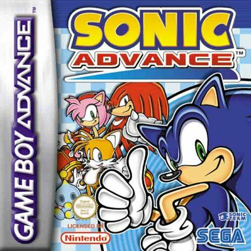 Sonic Advance (E)(Lightforce) gba Game