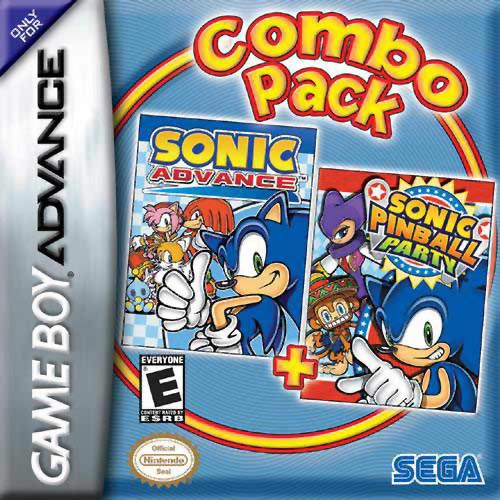 2 in 1 - Sonic Advance & Sonic Pinball Party (U)(Trashman) gba Game
