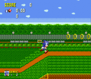flicky turncoat dx (demo sonic 1 hack) gioco sega