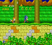 sonic the hedgehog 2 (simon wai prototype) sega game