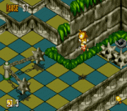 super sonic in sonic 3d sega game