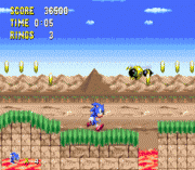 Sonic 1 pixel Perfect Sega