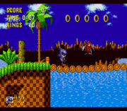metal sonic in sonic the hedgehog sega game