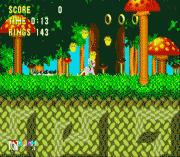 Sonic 3 & Rainbow Dash sega Game