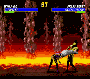 Ultimate Mortal Kombat 3 – Sega Genesis (Mega Drive) Game