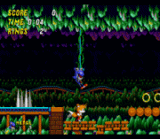 Metal Sonic in Sonic 2 (Beta) sega Game