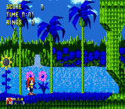 Mighty The Armadillo in Sonic the Hedgehog sega Game