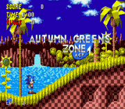Sonic 1 Oergomized sega Game