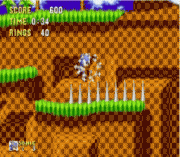 Sonic 1 – Spike Bug Fix & Spindash sega Game