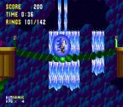 Sonic 2 Delta II sega Game