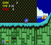 Sonic the Hedgehog 2Z sega Game