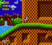 Sonic 1 Reversed Frequencies sega Game