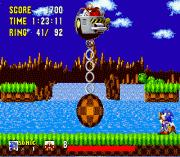 Sonic 2 Delta sega Game