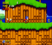 Sonic 2 Reversed Frequencies sega Game