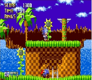 Sonic – Harder Levels sega Game