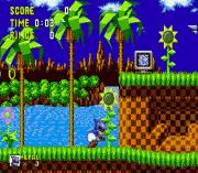 Metal Sonic in Sonic the Hedgehog (Beta) sega Game