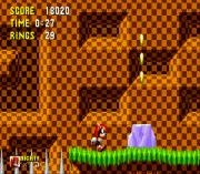 Mighty the Armadillo in Sonic 1 (Aquaslash's & Cinossu's Sprites) sega Game