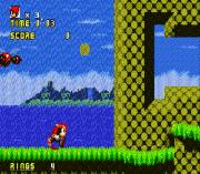 Sonic The Hedgehog AGX (First Public Release) sega Game