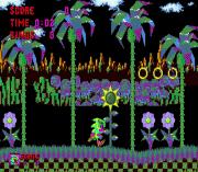 Sonic in Paynt sega Game