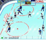 Tecmo Super Hockey – Sega Genesis (Mega Drive) Game