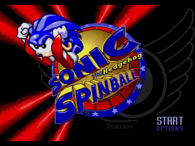 Sonic Spinball (Beta) sega Game