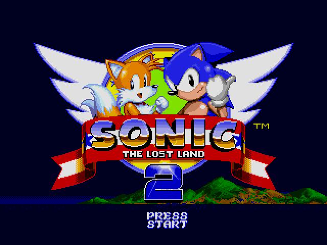 Sonic the Hedgehog 2 (World) (Rev A) [Hack by Team Lost Land v2.0] (~Sonic - The Lost Land 2) sega Game