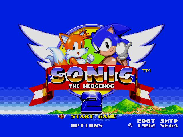 Sonic the Hedgehog 2 (World) (Rev A) [Hack by SMTP v0.50] (~Sonic 2 SMTP) sega Game