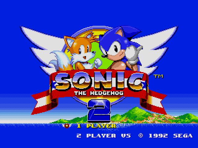 Sonic the Hedgehog 2 (World) (Rev A) [Hack by Hachelle-Bee v1.81] (Long Version) sega Game
