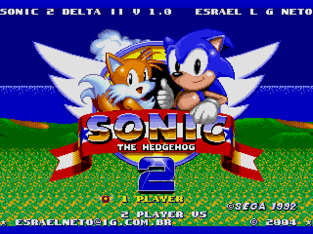Sonic the Hedgehog 2 (World) (Rev A) [Hack by Esrael v01.0a] (~Sonic 2 Delta II) sega Game