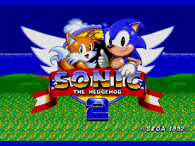 Sonic the Hedgehog 2 (World) (Beta) sega Game