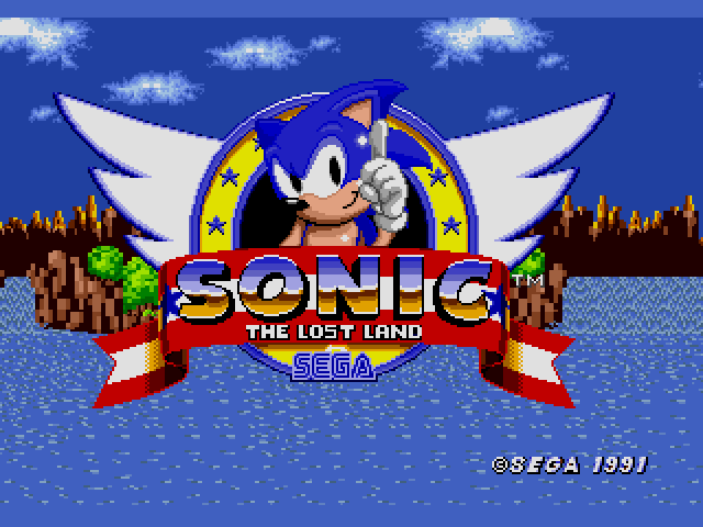 Sonic the Hedgehog (USA, Europe) [Hack by Team Lost Land v4.0] (~Sonic - The Lost Land) sega Game