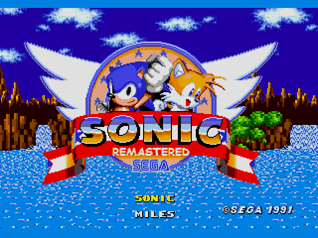 Sonic the Hedgehog (USA, Europe) [Hack by Puto v1.1] (~Sonic Remastered) sega Game