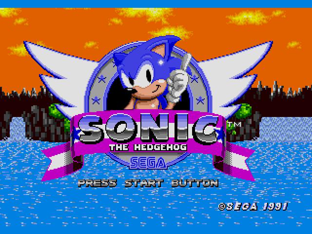 Sonic the Hedgehog (USA, Europe) [Hack by D.A.Garden v1.0] (~Sonic the Hedgehog - Westside Island) s Game