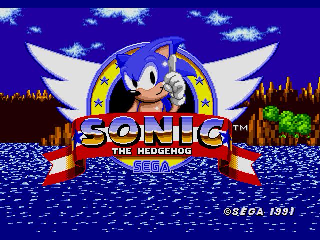 Sonic the Hedgehog (USA, Europe) [Hack by Carretero v2.0] (~Sonic - Return to the Origin) (Backward  Game