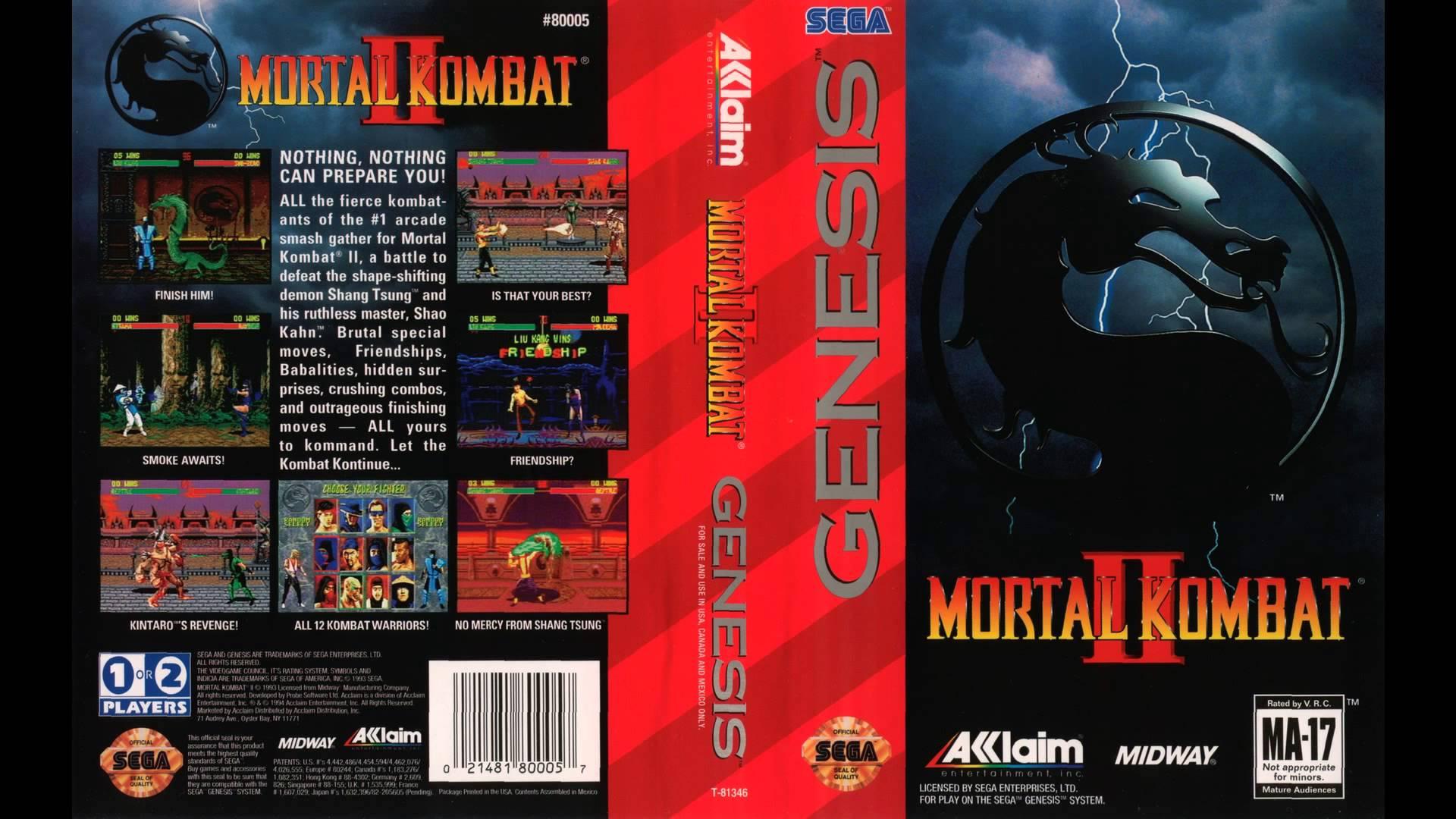 Mortal Kombat II (World) [Hack by Smoke v0 70] (~Mortal