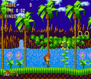 Sally Acorn in Sonic the Hedgehog – Sega Genesis (Mega Drive)