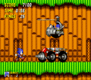 Sonic 2 Flicky Turncoat Edition (beta) sega Game