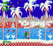 sonic the hedgehog - christmas edition sega game