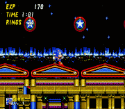 sonic 2 - secret rings control sega game