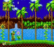 Vector the Crocodile in Sonic the Hedgehog sega Game