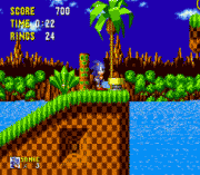 sonic the hedgehog sega game