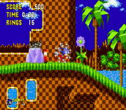 sonic the hedgehog zx sega gioco