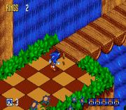 sonik 3d patlama - sonic 3d flickies 'ada sega oyunu
