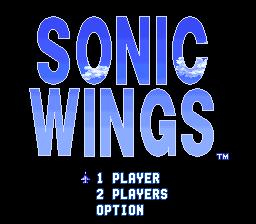 Sonic Wings (Japan) snes Game