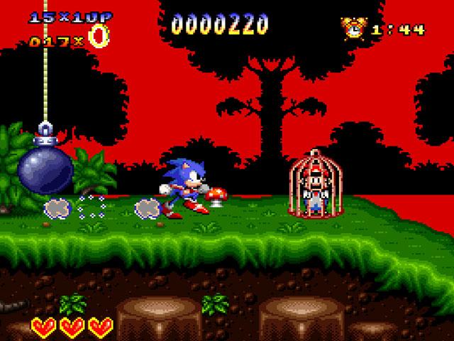 Sonic the Hedgehog 4 (World) (Unl) snes Game