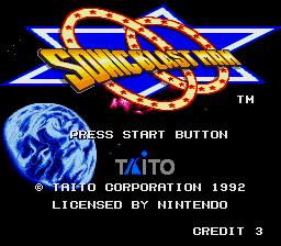 Sonic Blast Man (Europe) snes Game