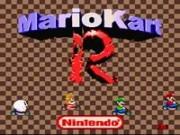 Mario Kart R1 snes Game
