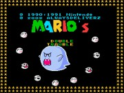 Mario's Double Trouble snes Game